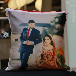WEDDING PHOTO CUSHION