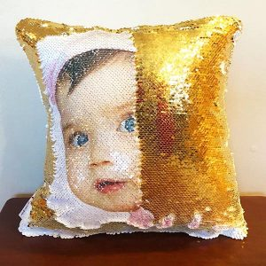 Magic Mermaid Sequin Pillow