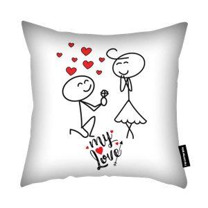My Love - Valentines Day Cushion