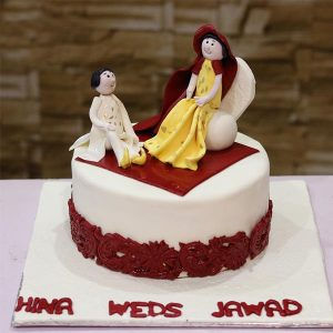 Wedding Mehndi Theme Cake