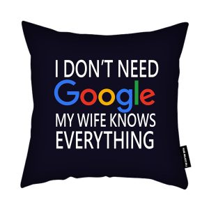Google Wife Cushion