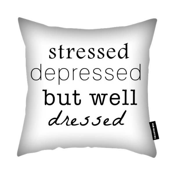 Stressed funny Cushion