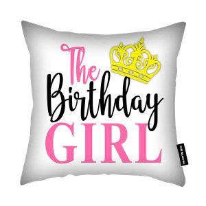 The Birthday Girl Cushion