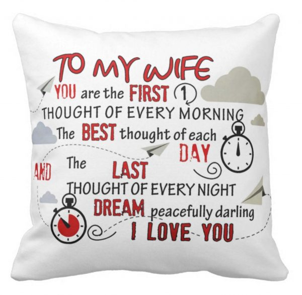Wife Loving Cushion