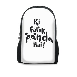 Ki Farak Panda Hai – Backpacks