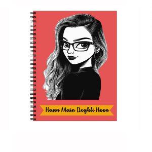 Doghli Girl - Notebook